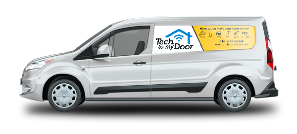 Tech to My Door Van Drivers Side