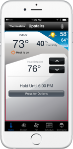 Climate & Comfort Phone App