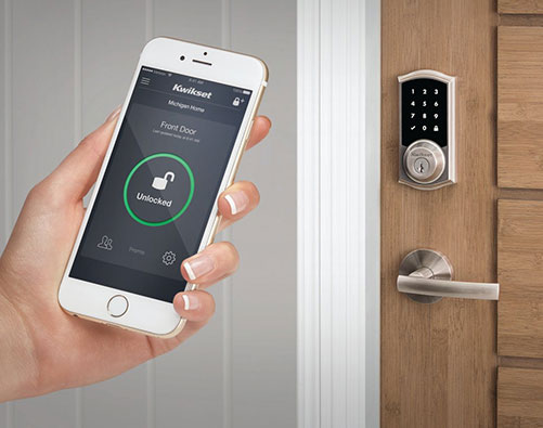 Smart Lock with Door
